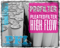 Pleated High Flow SOE Cartridge Filter Indonesia  large