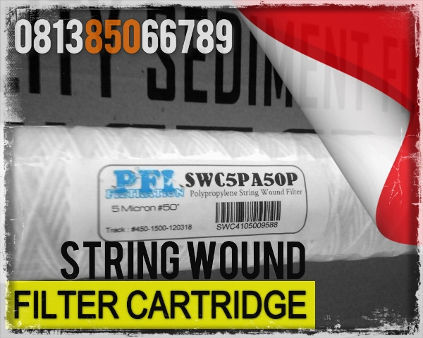 Cartridge Filter Swro String Wound 5 Micron 50 Inch Pt