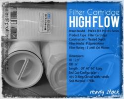 PFI HF6 High Flow Filter Cartridge Indonesia  large
