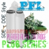 PFI PL68 DOE Pleated Filter Cartridge Absolute Rate Indonesia  medium