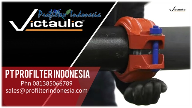 Victaulic Flexible Coupling Style 75 Pt Profilter Indonesia