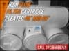 Pleated High Flow Filter Cartridge Indonesia  medium