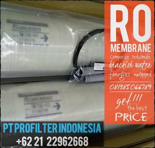 Toray Tm820e 400 Sea Water Ro Membrane Pt Profilter Indonesia