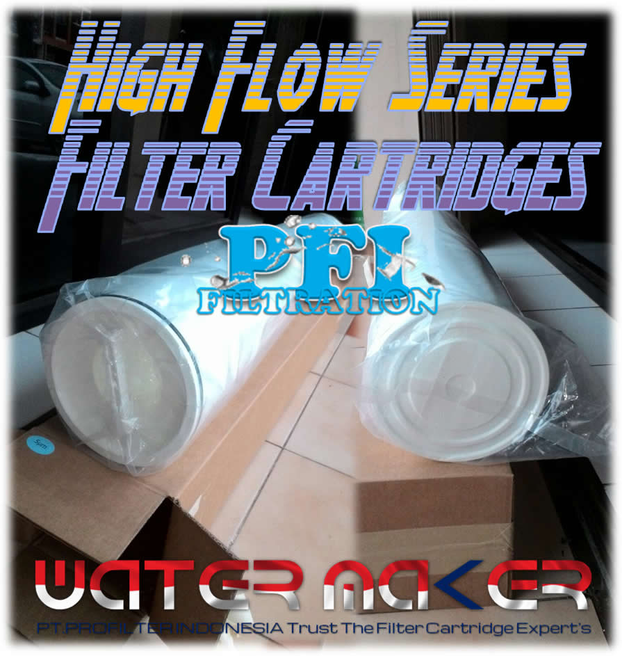 High Flow Series Filter Cartridge 6 Inch Pt Profilter