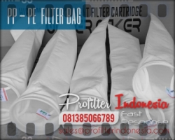 d PE PP Filter Bag Indonesia  large