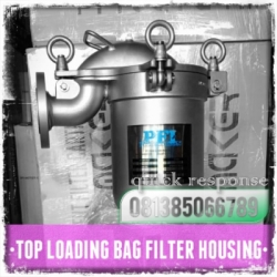 d PFI Top Loading Housing Bag Filter Indonesia  large