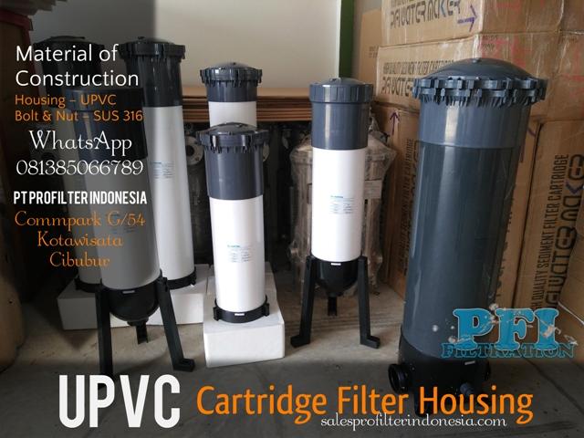 Pvc Housing 40 Inch Isi 5 Cartridge Filter Pt Profilter